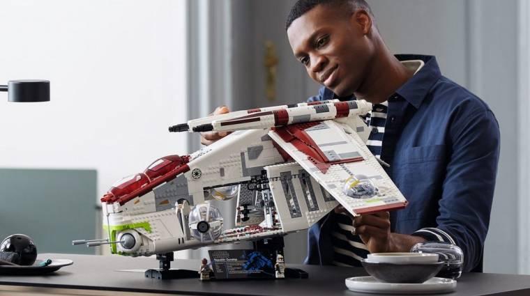Hatalmas LEGO-szettben lehet a tied A klónok támadása csapatszállítója bevezetőkép