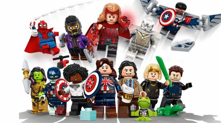 A Disney+-os Marvel-sorozatok hősei lesznek a legújabb LEGO minifigurák bevezetőkép