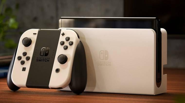 Nem annyira Pro, de jön egy OLED-kijelzős Nintendo Switch bevezetőkép