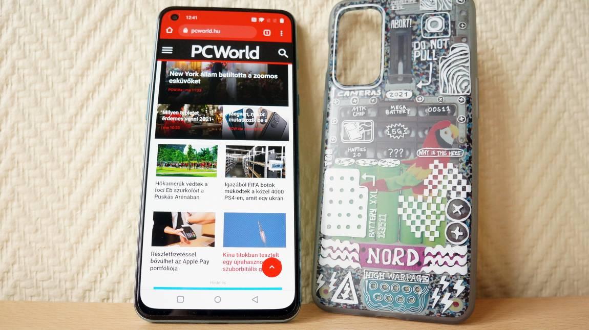 OnePlus Nord 2 5G teszt - ez az a mobil, ami visszaállítja a OnePlus hírnevét? kép