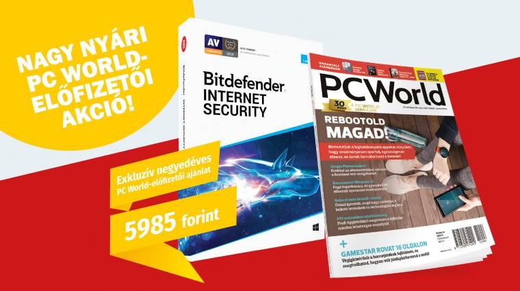 Fizess elő három hónapra a PC World magazinra, és értékes ajándékot kapsz! kép