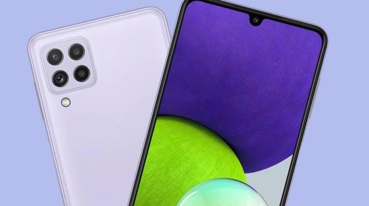 A Samsung néhány napon belül kiadja a Galaxy F22-t, de több fontos infó már kiderült a telefonról kép