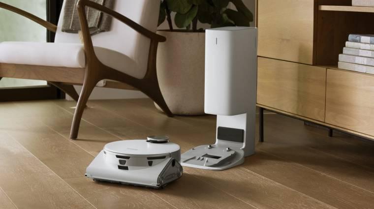 A Samsung új robotporszívója az önvezető autók technológiáját használva tartja tisztán otthonunkat kép