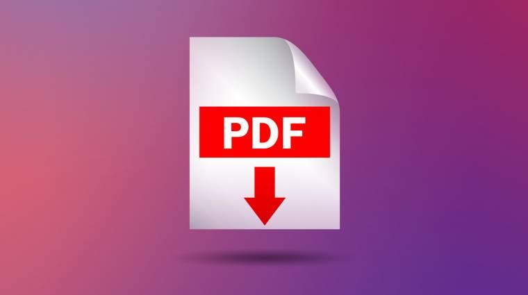 Így készíthetsz PDF-et egyszerűen kép
