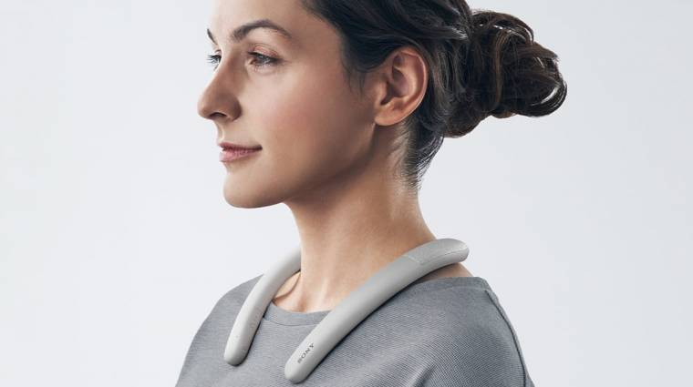 Home office-hoz tervezték a Sony legújabb, nyakban viselhető hangszóróját kép