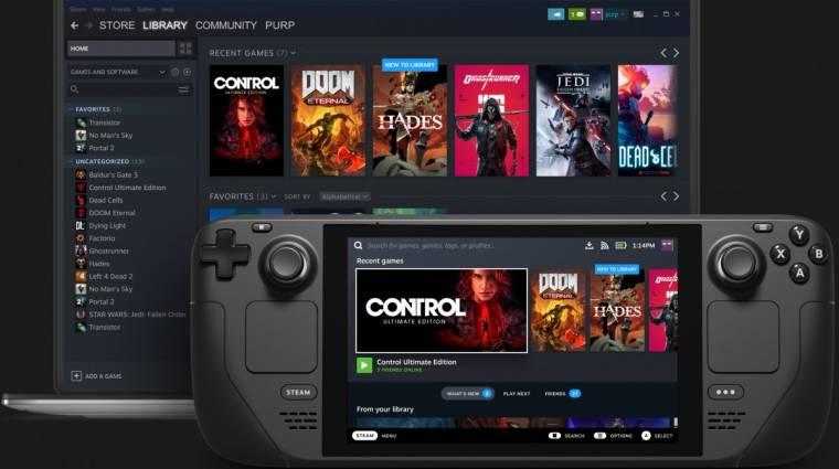 Az Epic is segít, hogy a Steam Deck a lehető legtöbb játékot támogassa bevezetőkép