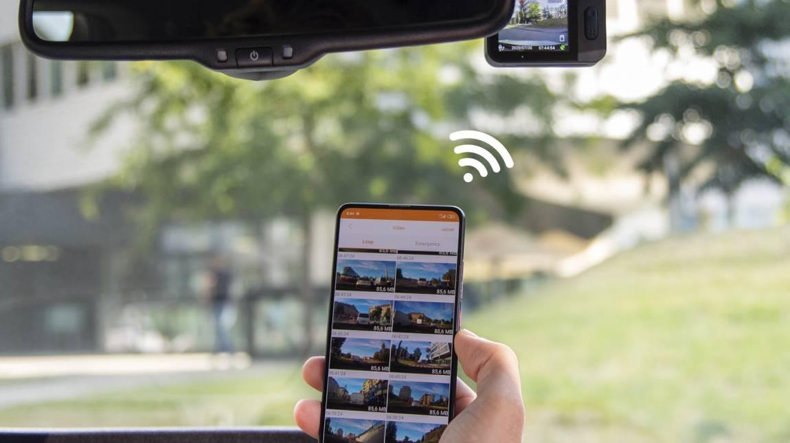 TrueCam M9 GPS 2.5K teszt - felső kategóriás fedélzeti kamera kép