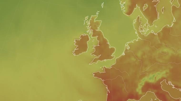 Anglia kiadta történelme első extrém meleg miatti riasztását kép