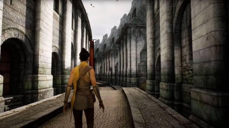 Elképesztően néz ki a The Elder Scrolls IV: Oblivion az Unreal Engine 5-ben bevezetőkép