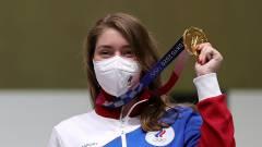 Olimpiai csúcsot döntött a The Witcher rajongó sportlövő kép