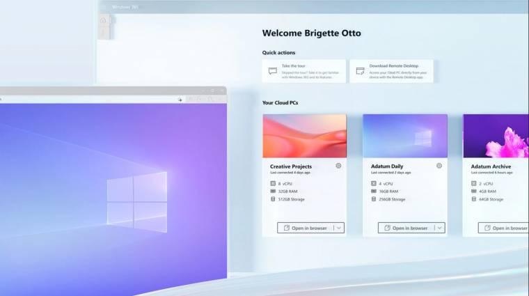 Jön a streamelhető Windows, amit bármilyen eszközről lehet futtatni kép