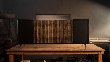 Whiskys hordóval ékeskedik a Jack Daniels és a Wrensilva méregdrága lemezjátszója kép