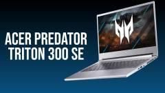 Acer Predator Triton 300 SE teszt - a legelegánsabb gamer kép