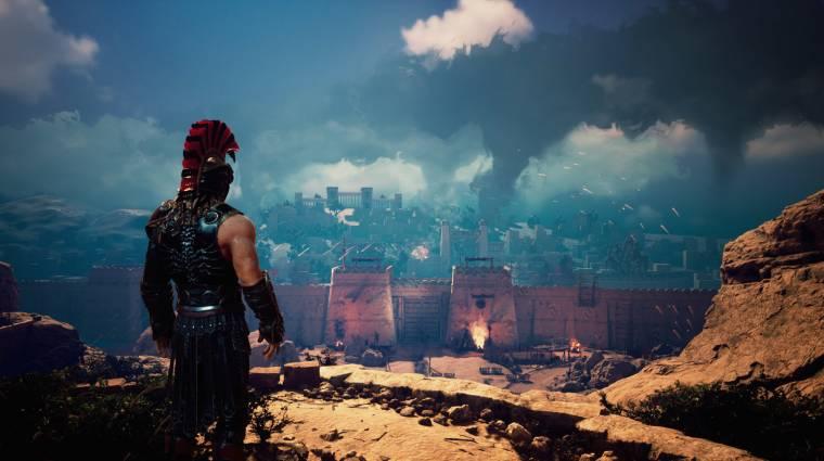 Akhilleuszként még a görög istenekkel is harcolhatunk a Dark Point Games új játékában bevezetőkép