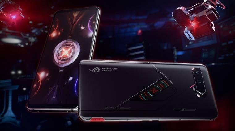 Hátoldali OLED-kijelzővel támad az ASUS új gamer telefonja kép