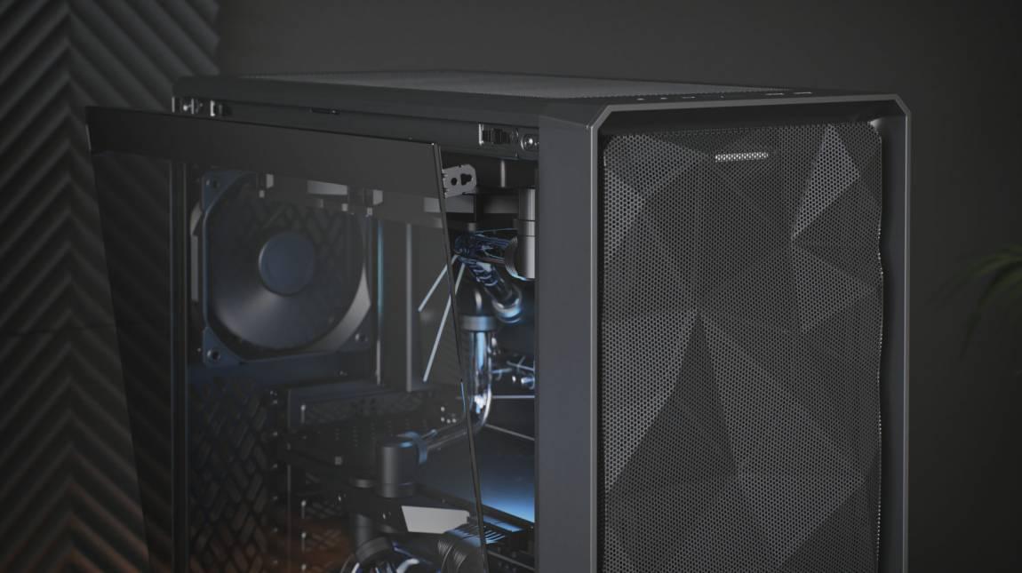Fractal Design Meshify 2 Compact Light TG teszt - hűvös ház, meleg fogadtatás kép