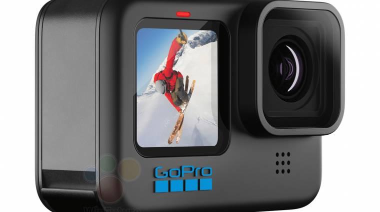 Jobb kamerát, erősebb processzort és új stabilizátort kap a GoPro Hero 10 Black kép