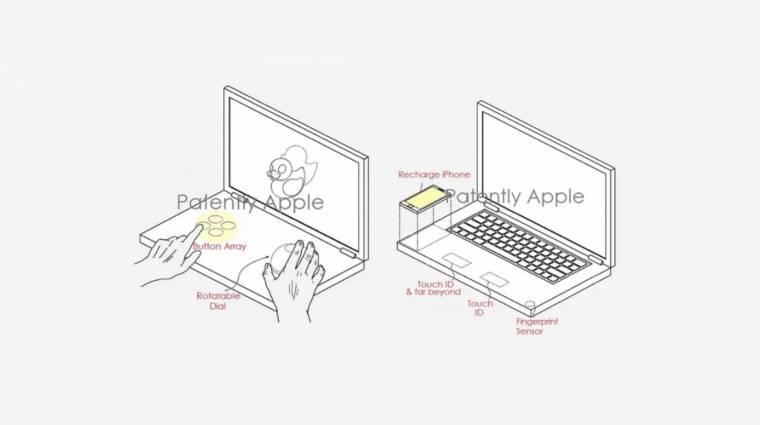 Virtuális billentyűzettel érkezhet a jövő MacBookja? kép