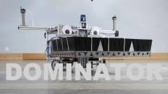 Végre itt egy robot, ami villámgyorsan épít hatalmas dominóképeket kép