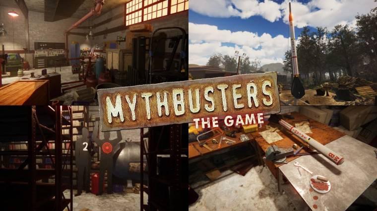 Még idén megjelenik a Mythbusters: The Game bevezetőkép
