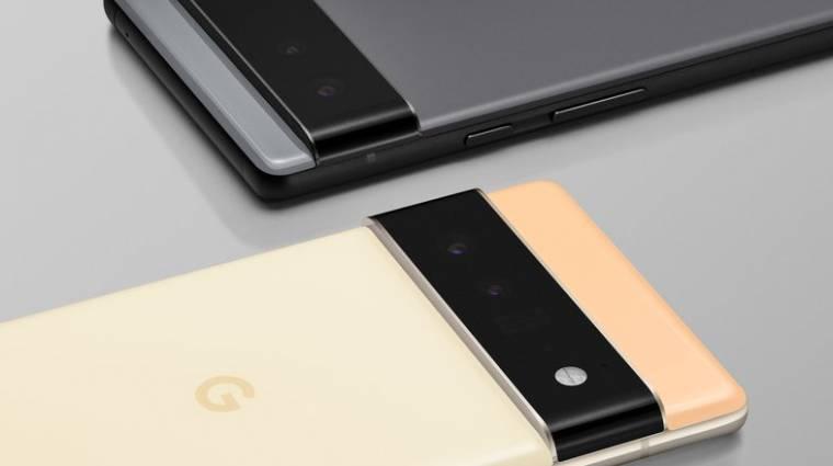 Hivatalos fotókon a Google Pixel 6 és a Pixel 6 Pro, ami saját fejlesztésű chipet kap