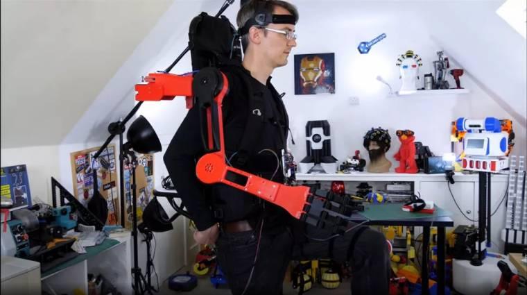 Rapsberry Pi felhasználásával épített működő robotkart egy kreatív videós kép