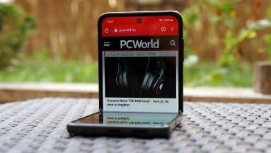 Samsung Galaxy Z Flip3 teszt – eljött hát a hajtogatós mobilok ideje? kép