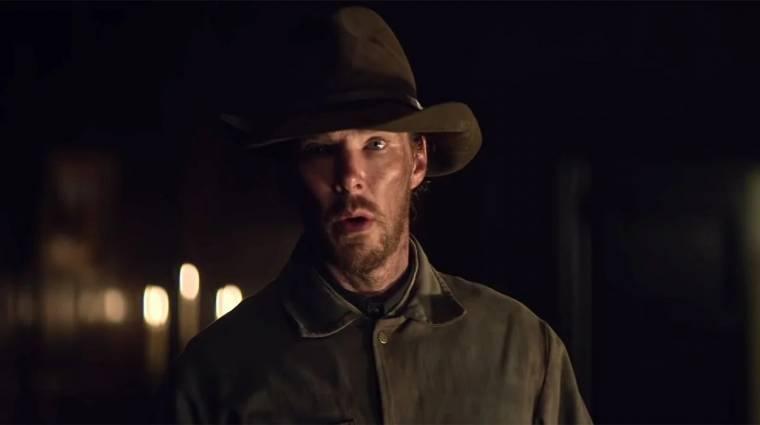 Baljóslatú előzetest kapott Benedict Cumberbatch westernje kép