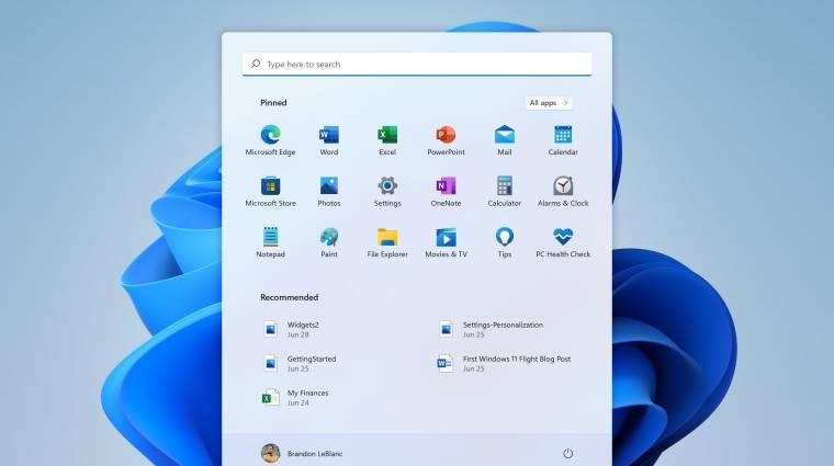 Kipróbáltuk a Windows 11-et - ezt nyújtja a (közel)jövő operációs rendszere kép