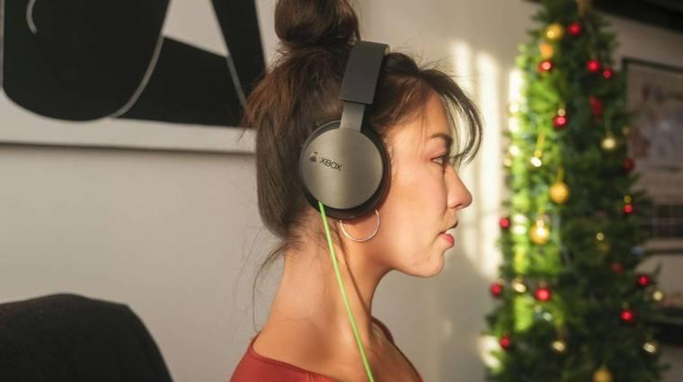 Vezetékes változatban, jóval olcsóbban is elérhető lesz az Xbox fejhallgató kép