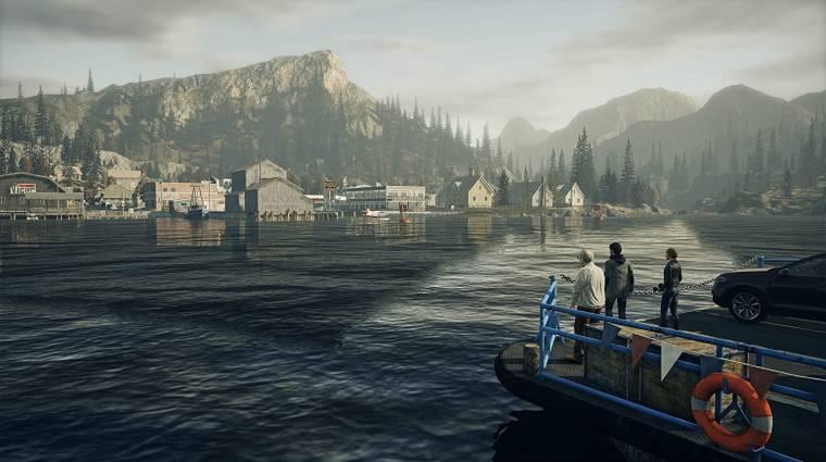 Zöld utat kaphatott az Alan Wake 2 bevezetőkép