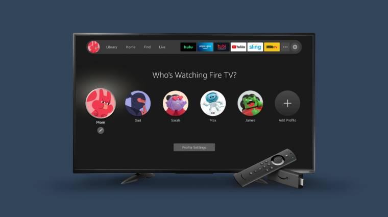 Saját márkás tévéket dob piacra az Amazon kép