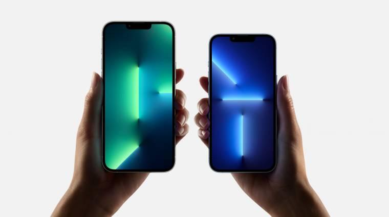 Több gond is adódott az új iPhone 13-mal kép