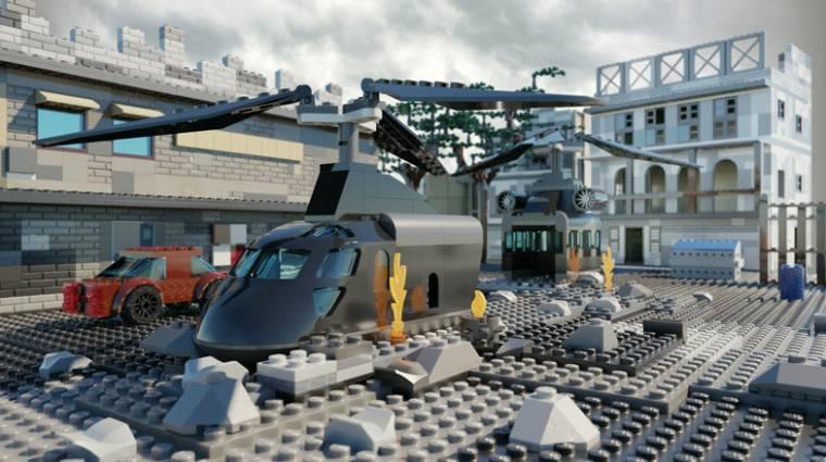 Nem lenne olcsó a Call of Duty sorozat legendás pályáit LEGO-ból megépíteni bevezetőkép