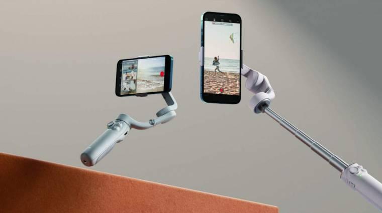 Szelfibotként is bevethető a DJI új mobilos stabilizátora kép