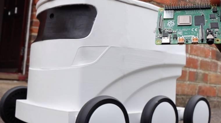 Épült egy futárrobot, amit egészen extrém módon lehet irányítani kép