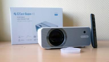 EZCast Beam H3 projektor teszt - mit remélhetsz egy 60 ezer forintos projektortól? kép