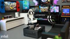 Erős játékos PC-t rejt ez a gamersarkot ábrázoló dioráma kép