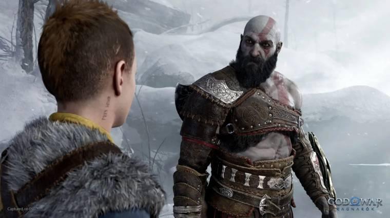 Itt az első ízelítő abból, milyen lesz a God of War Ragnarök bevezetőkép