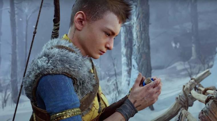 Vajon mi lehetett az a kék gömb Atreusnál a God of War: Ragnarök előzetesében? bevezetőkép