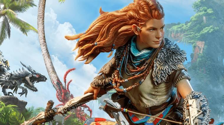 A Horizon: Forbidden West kapcsán gyönyörű Aloy figurát készít a Dark Horse bevezetőkép
