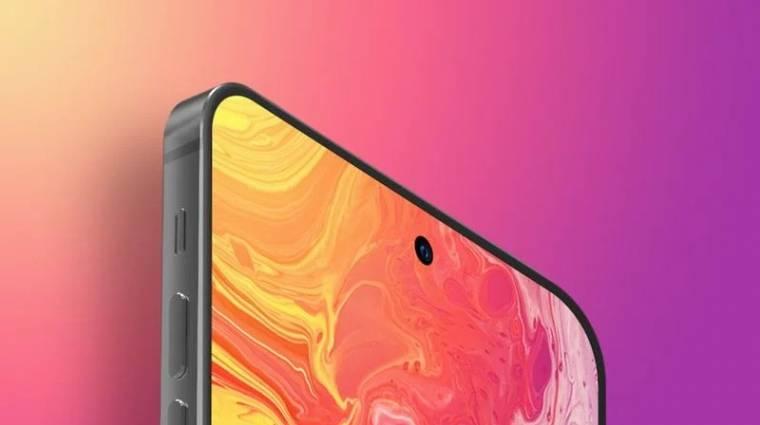 A jövő évi iPhone Pro modell végre notch nélkül érkezhet kép