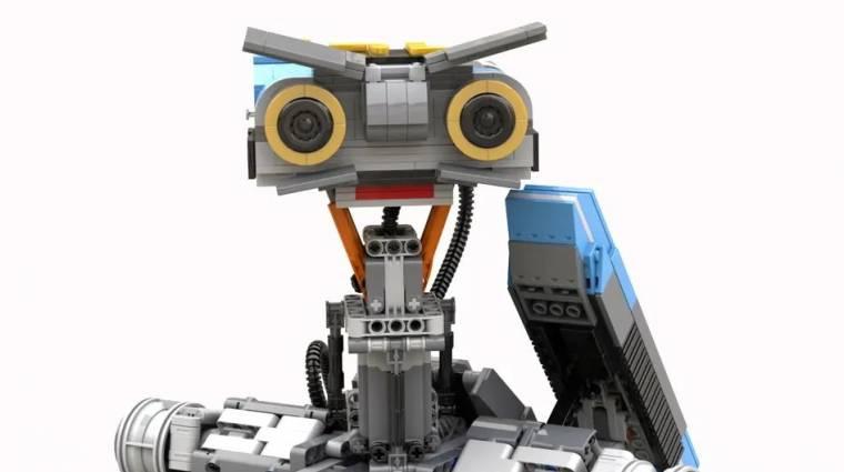 Johnny 5 nagyon is él ezzel a fantasztikus LEGO-szettel bevezetőkép