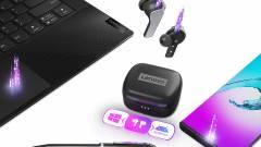 Okosabb vezeték nélküli fülhallgatót mutatott be a Lenovo kép