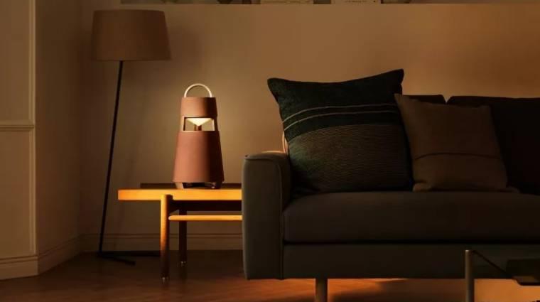 Lámpásra hajaz az LG új vezeték nélküli hangszórója kép