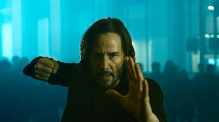 BRÉKING: Megérkezett végre a The Matrix Resurrections első látványos előzetese! kép