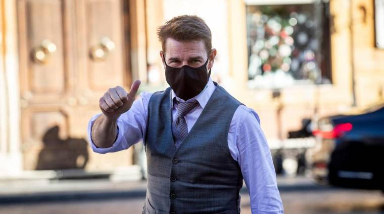 Tom Cruise végre hátradőlhet, véget ért a Mission: Impossible 7 forgatása kép