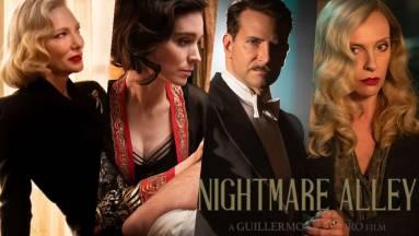 Szinkronos előzetest kapott Guillermo del Toro új filmje, a Rémálmok sikátora kép