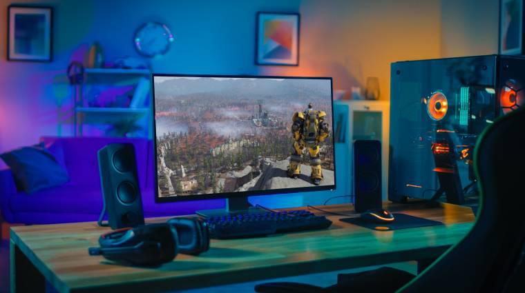 Milyen monitort érdemes választani egy gamernek? kép