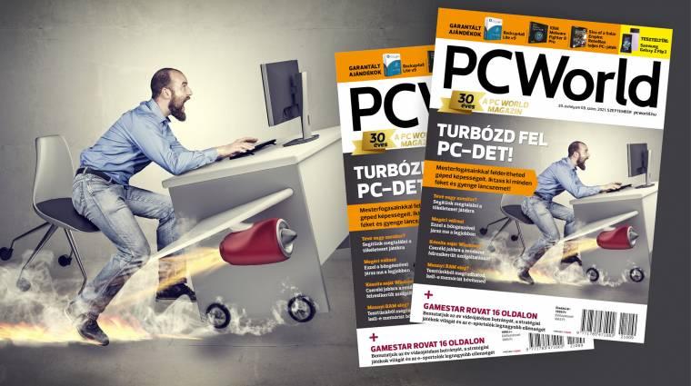 A szeptemberi PC World felturbózza a PC-det kép